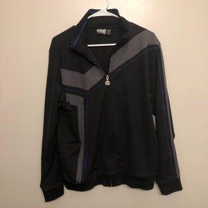 Billabong bomber track jacket black large
